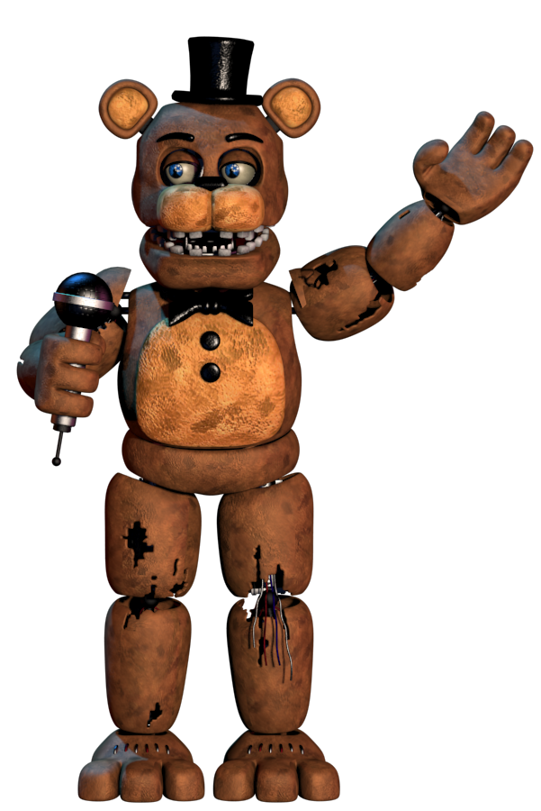 3ds Max Withered Freddy Strangespyder Model By Endyarts Freddy Fnaf Drawings Five Nights At Freddy S