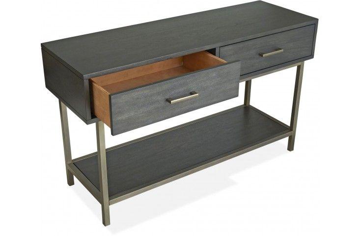 Best Fulton Smoke Anthracite Rectangular Sofa Table Sofa 400 x 300