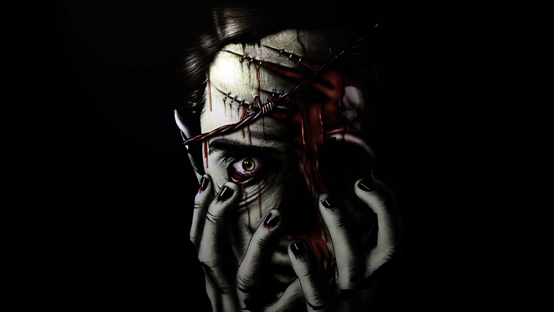 Scary Zombie Wallpapers And Backgrounds Zombie Wallpaper Just Pics