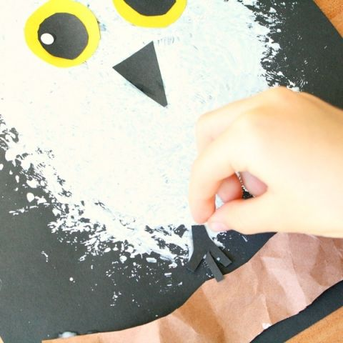 Snowy Owl Winter Craft for Kids   Winter crafts for kids ...