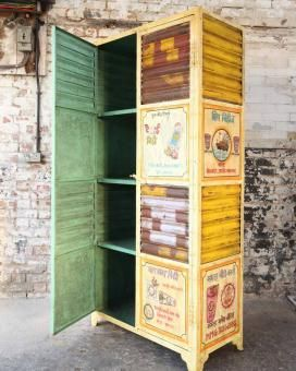 Remarkable This Metal Cabinet Has Been Partly Repurposed From Roller Complete Home Design Collection Papxelindsey Bellcom