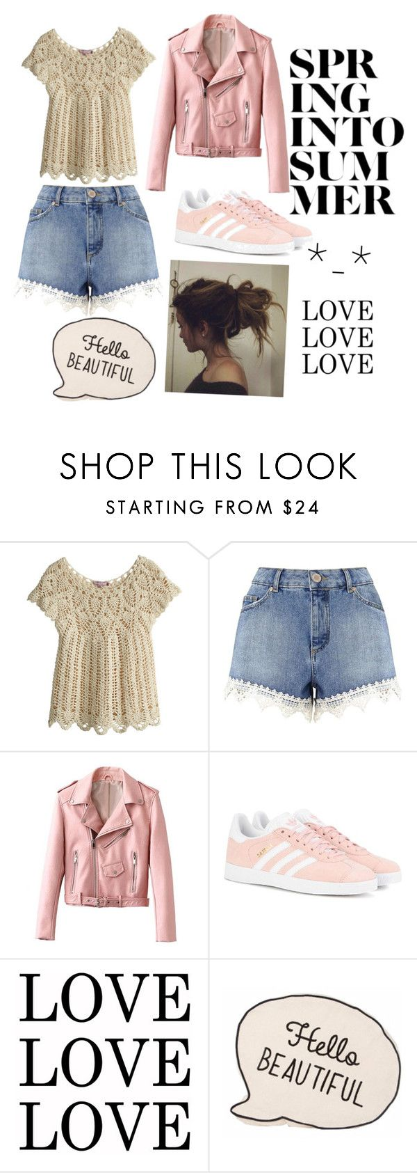 """""""Untitled #54"""" by chica1622 ❤ liked on Polyvore featuring Calypso St. Barth, Miss Selfridge and adidas Originals"""