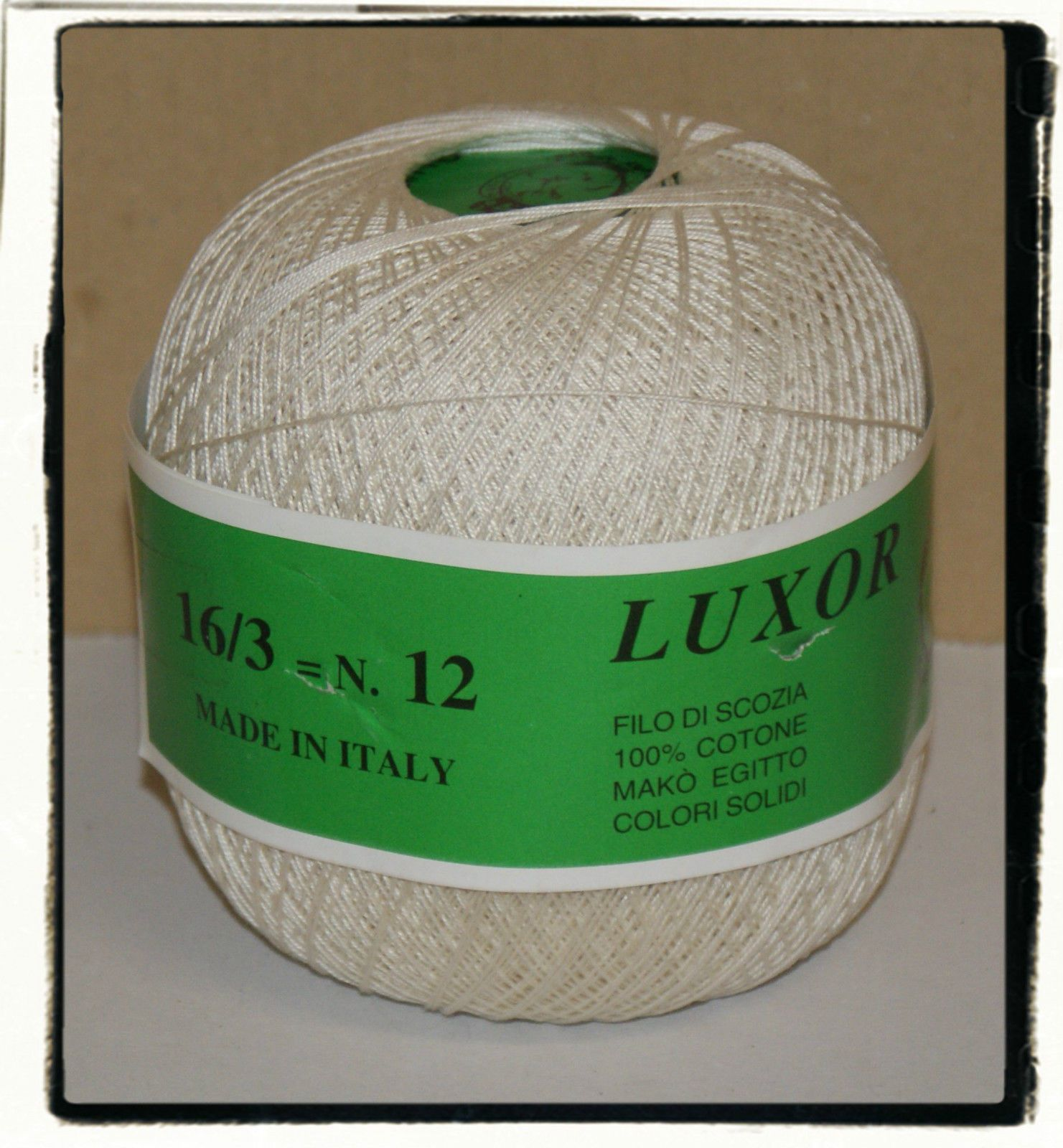 STOCK GOMITOLI COTONE LUXOR12 CO.S114 | eBay