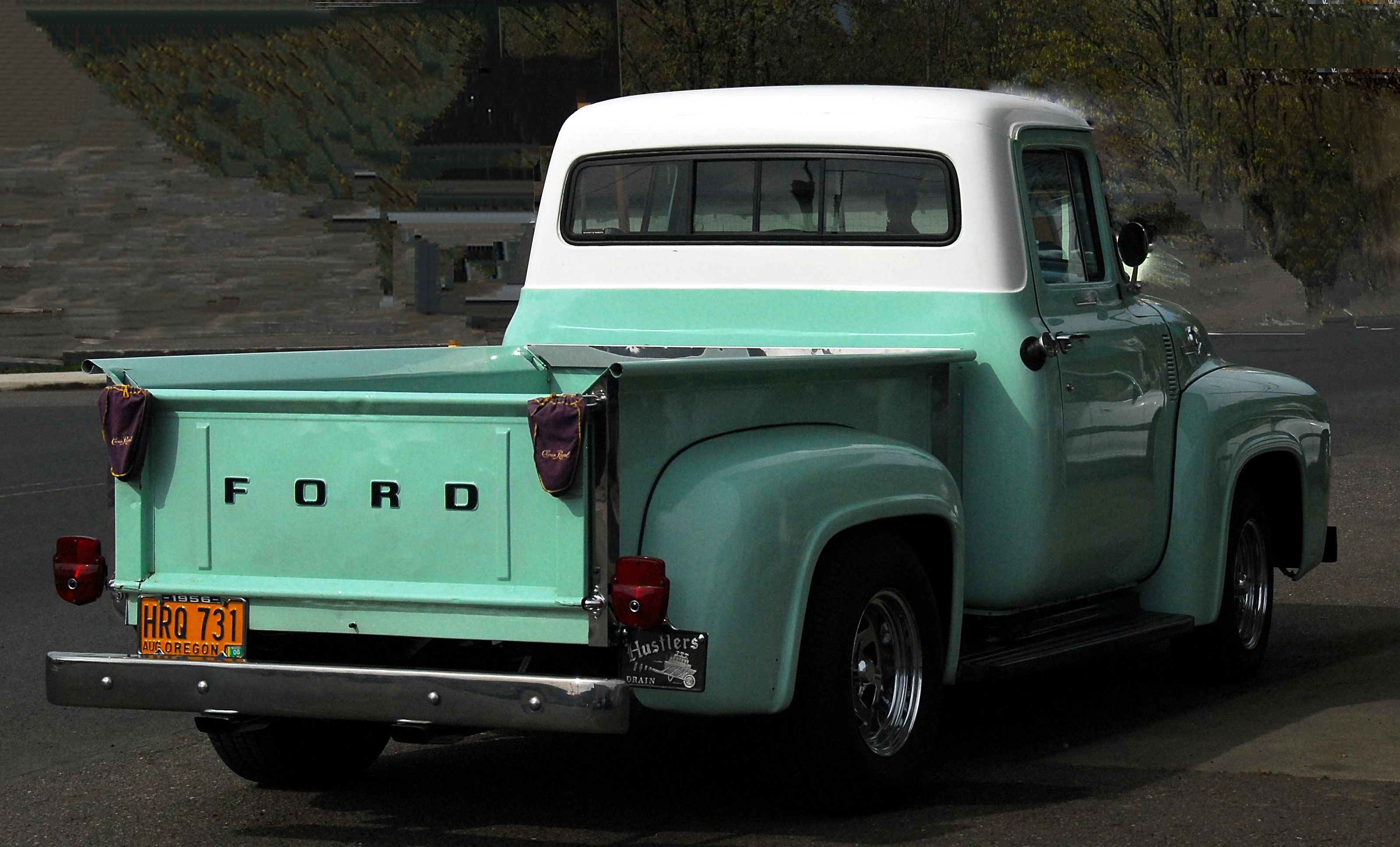 Old restored ford,teal paint job | old cars/trucks | Pinterest ...