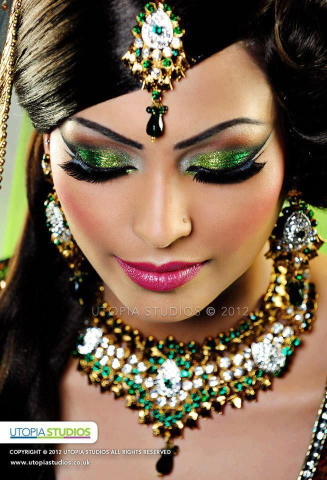 Indian Inspired Make Up