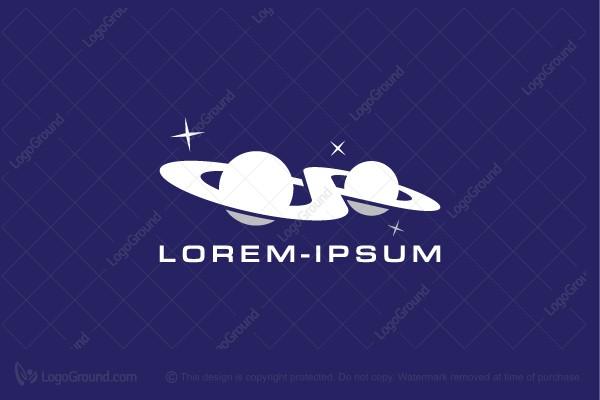 Infinity Planets Logo Planet Logo Puzzle Logo Ship Logo