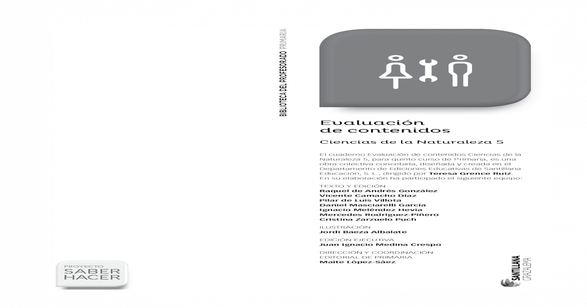 Descargar Evaluacion Matematicas 2 Primaria Santillana Conocimientos Generales