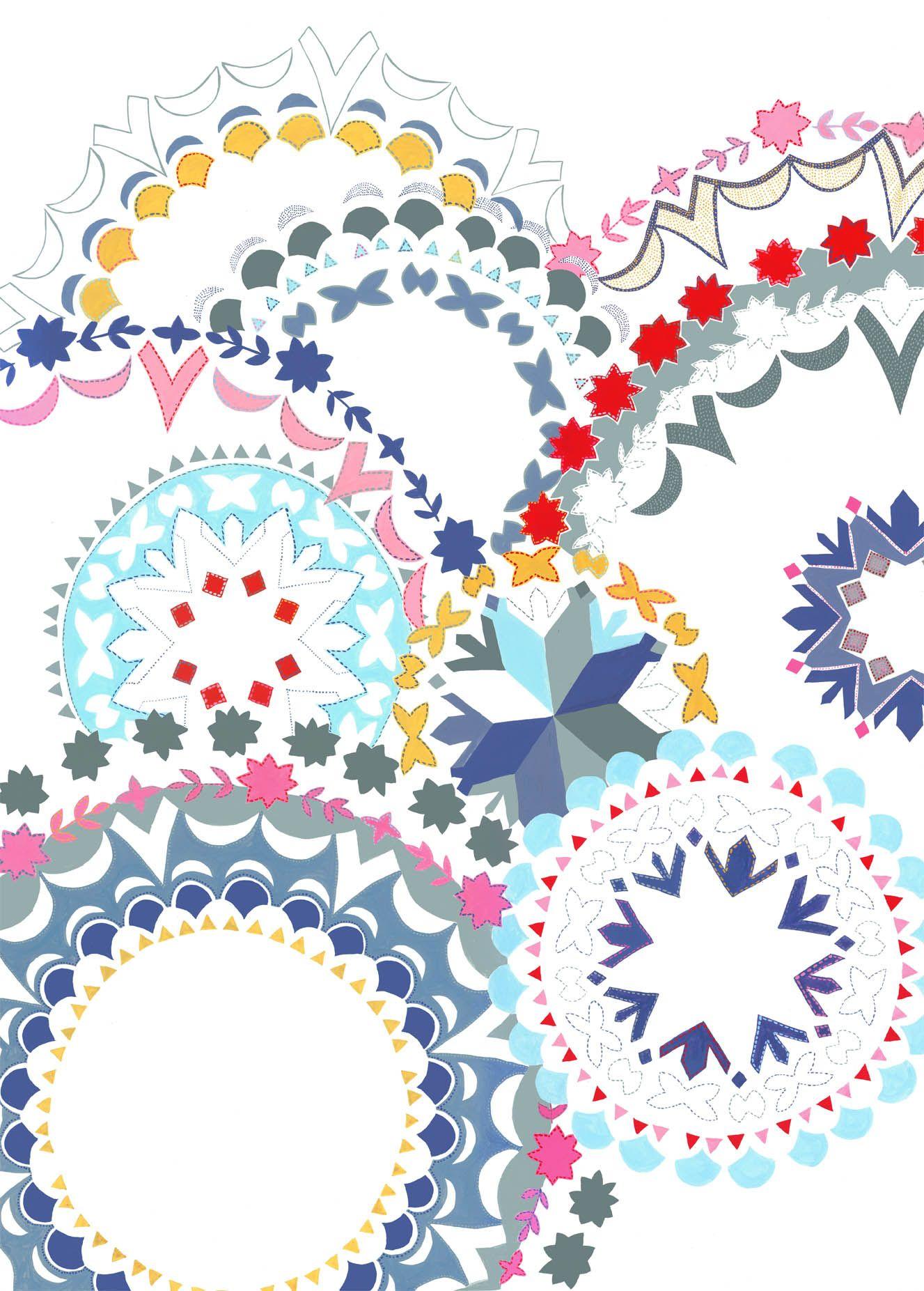 Day 30 Createstuff Final Painting All Done Voila Arabic Pattern Pattern Illustration Pretty Patterns