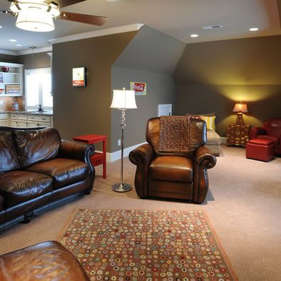 Bonus Room Idea To Separate Space Maybe Upstairs For The Boys To Play Video Games Bonus Room Design Bonus Rooms Bonus Room Decorating