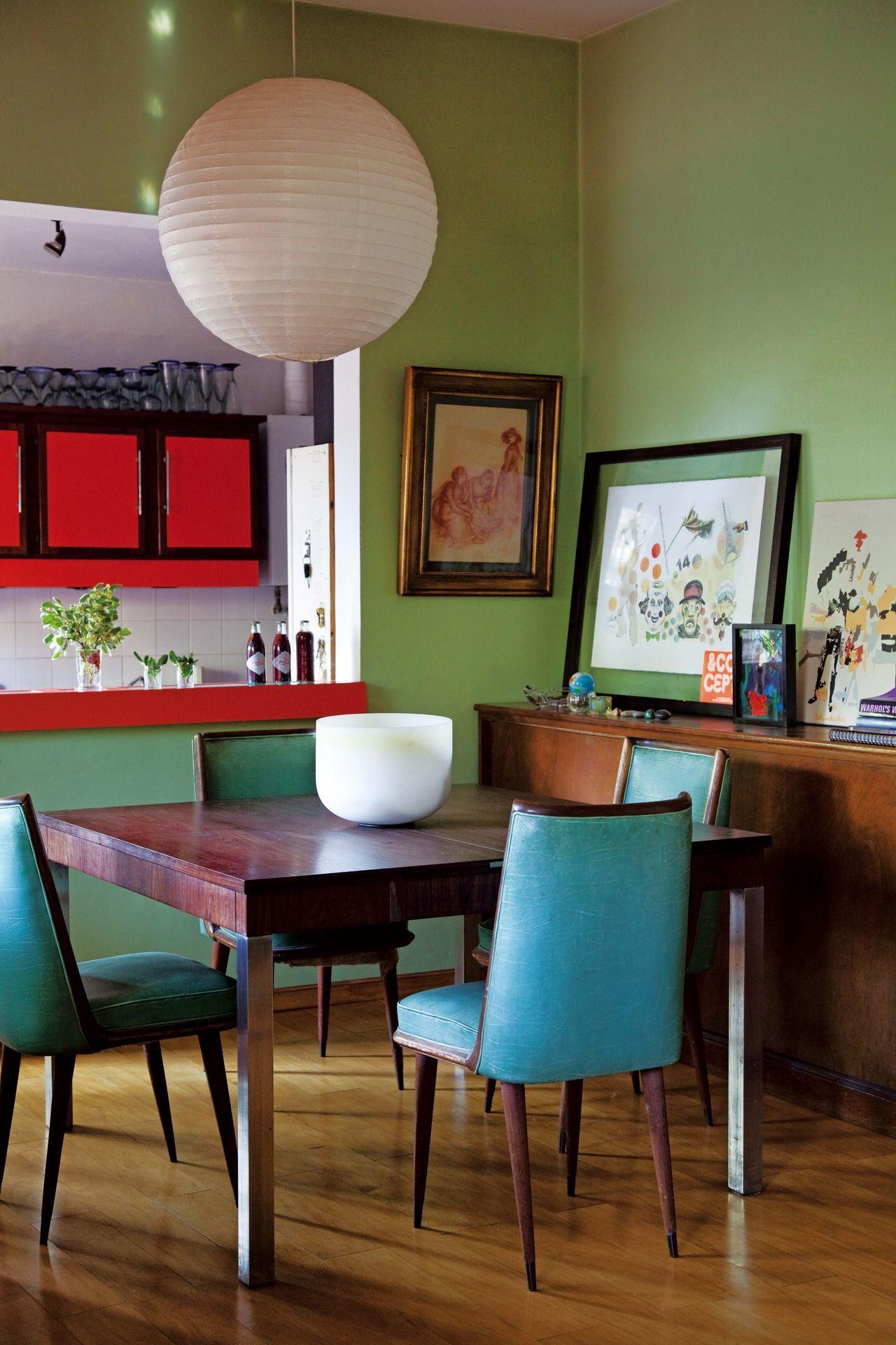 Conocé por dentro la casa de una pareja de diseñadores | Comedores ...