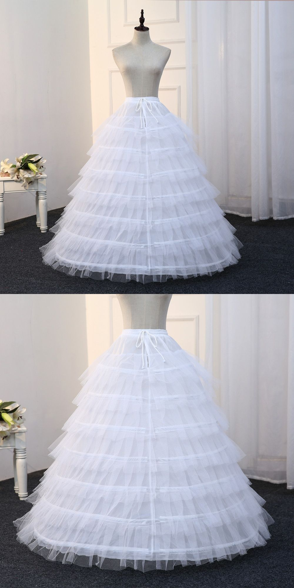 Free Shipping 7 Hoops Petticoats for Wedding Dress Ball Gowns ...