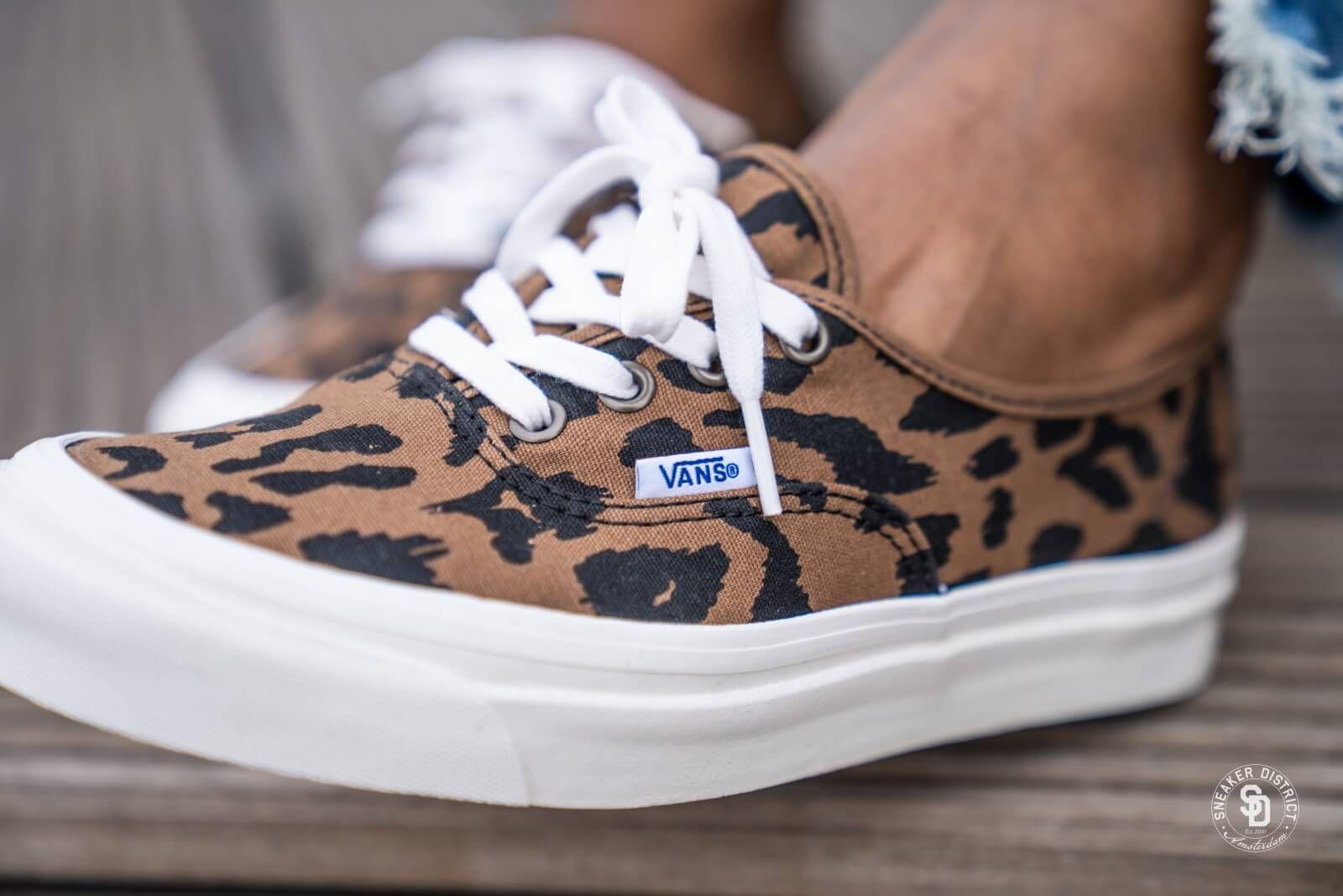 Vans Authentic 44 Dx Anaheim Factory Og Leopard Vn0a38envl01 Sneaker Anaheim Vrouw