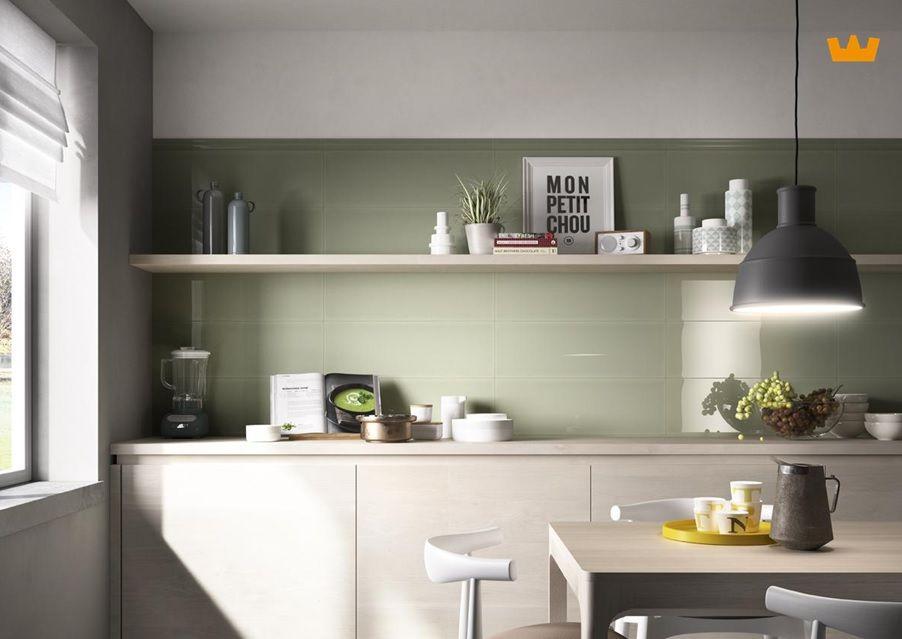 Tegels Groen Keuken : Keuken met groene tegels: groene wandtegels keuken groene tegels