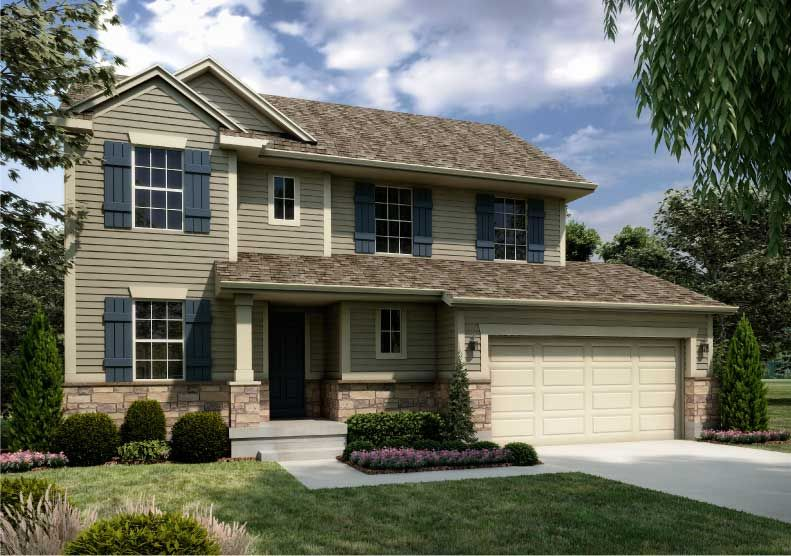 two story homes | Newcastle Traditional home design for new homes in