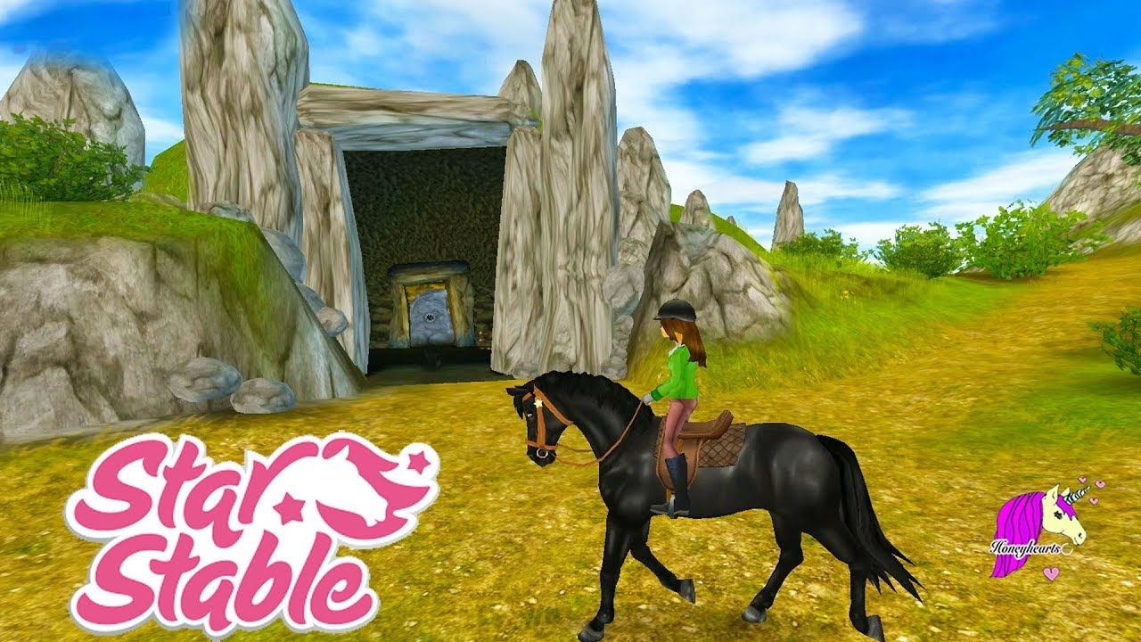 Inside Ghost Cave? Star Stable Horses Game Let's Play with