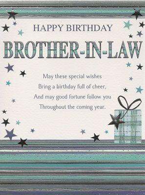 hAPPY bIRTHDAY BROTHER IN LAW Happy Birthday Relatives