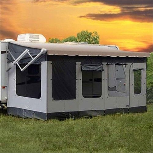 Carefree 291200 Vacation R Screen Room For 12 Ft To 13 Ft Awning Jet Com Rv Screen Rooms Camping World Remodeled Campers