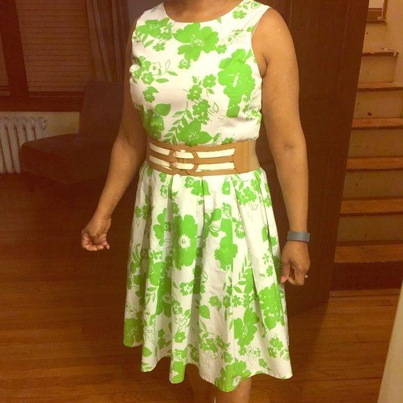 Tea Length Sun Dress
