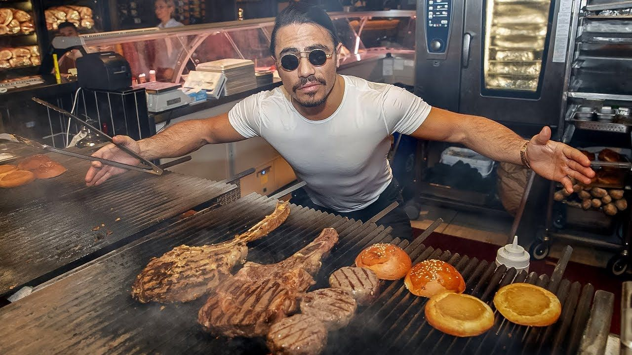 Usa People Check Out My Restaraunts With Ex Owner On Video One Of Best Restaraunt Steak House You Will Have Salt Bae I Turkish Chef Best Steak Best Street Food