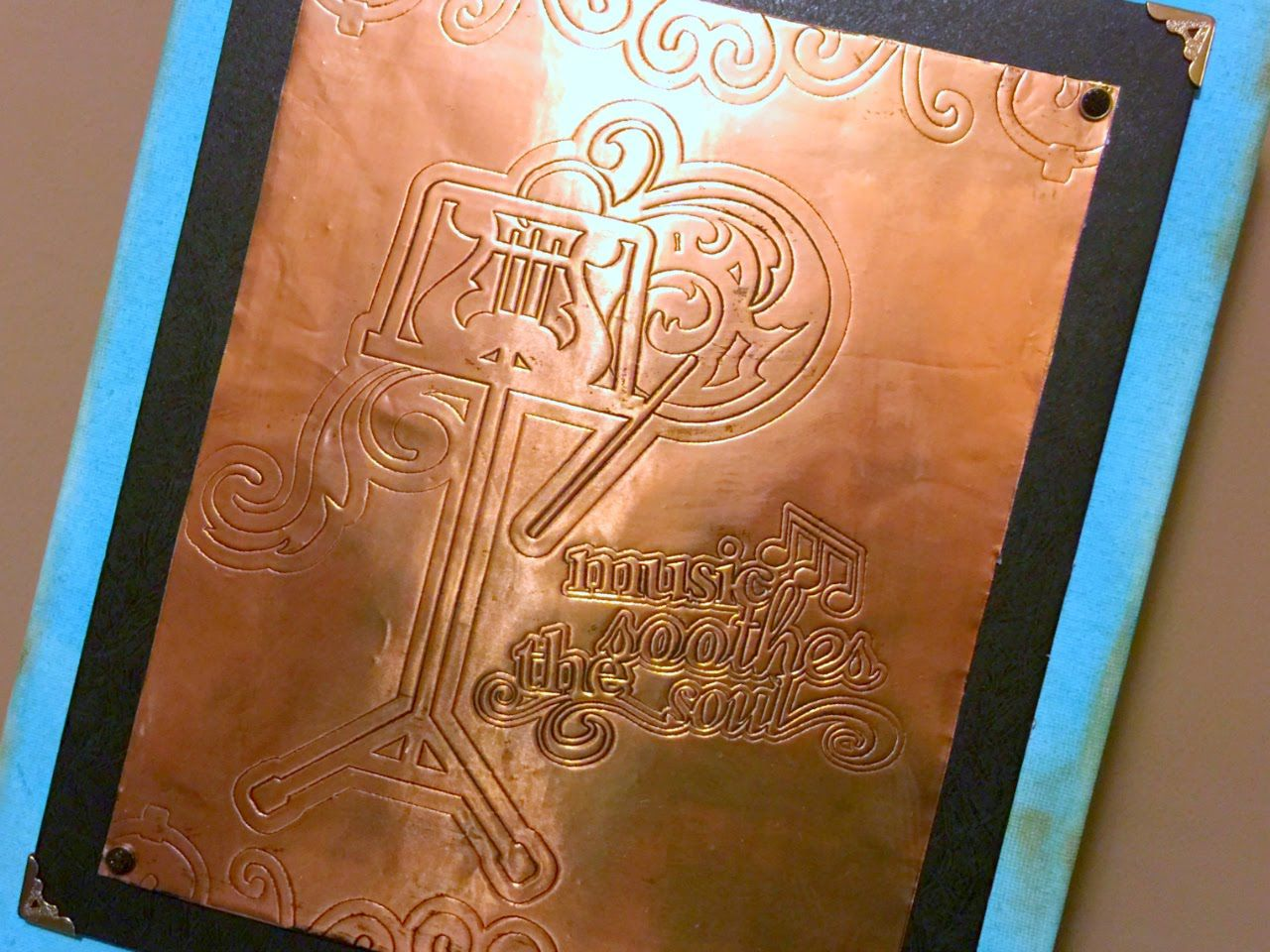 Copper Embossing With Cricut Explore Cricut Explore Air