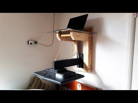 Building A Pc Monitor Wall Mount Handmade Crafts Howto Diy Build A Pc Wall Mount Wall