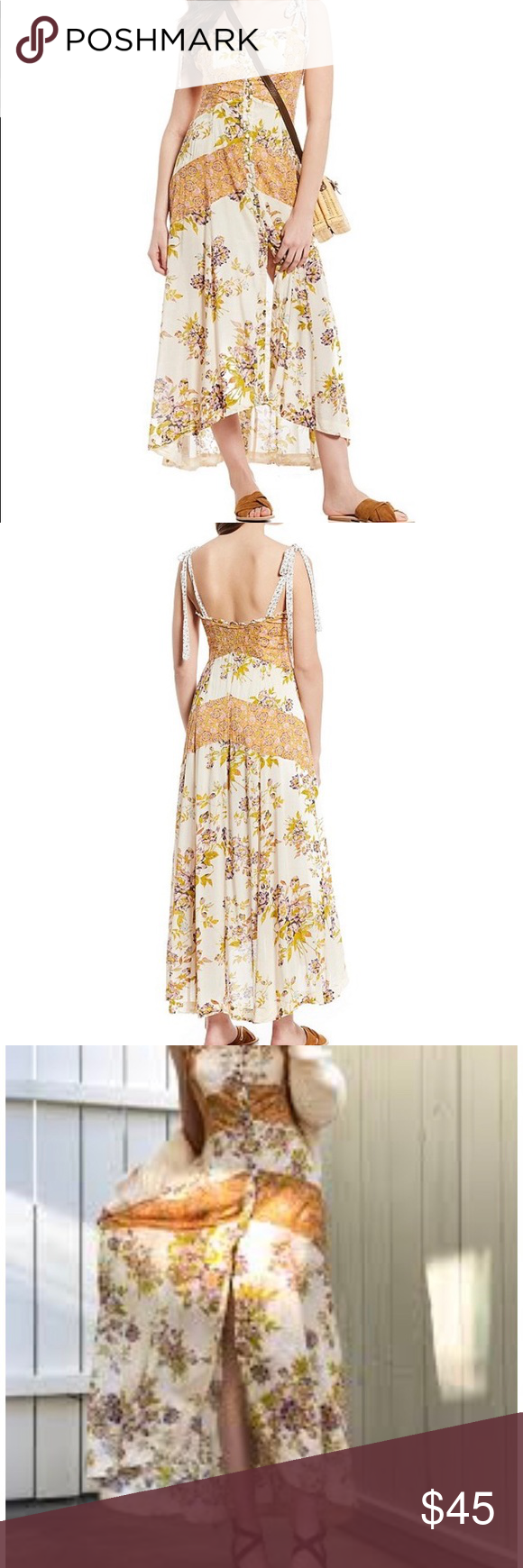 9f83d2457fd Lover Boy Floral Print Button Front Maxi Dress New with tags.. never worn.