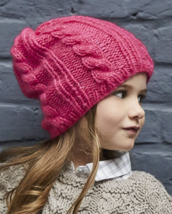 Modèle Bonnet Fille Abbella Phil Nuage | Tricot et crochet, Patron tricot et Tricot