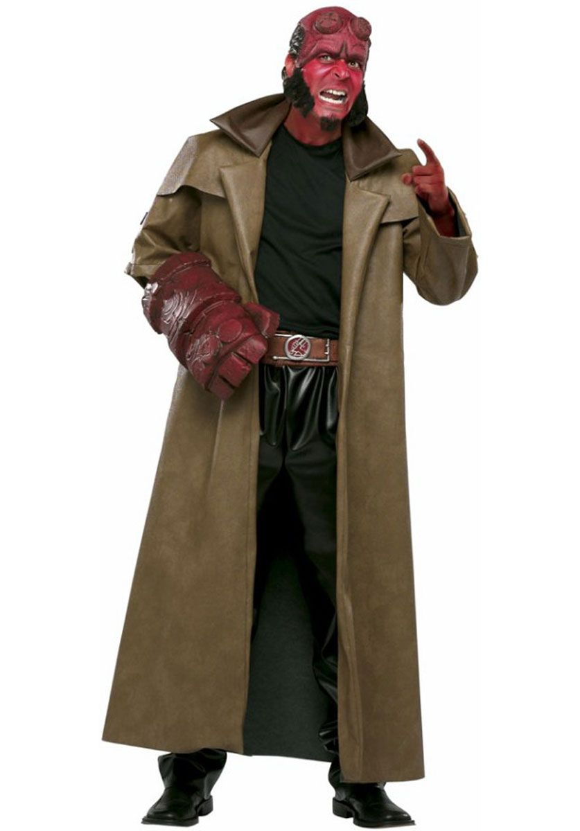 Hellboy Superhero Costume - Halloween Costumes at Escapade™ UK ...