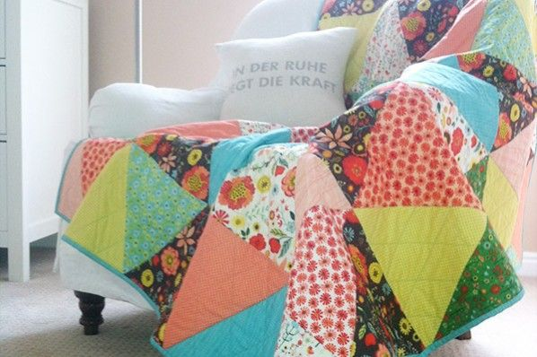 New Fabric Line: Roots and Wings + Quilt Tutorial » Deena Rutter
