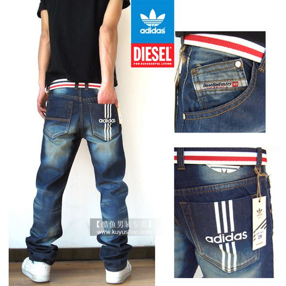 c3270d409d Diesel Viker Adidas Jeans | Z.Men's Fashion | Denim fashion, Jeans ...