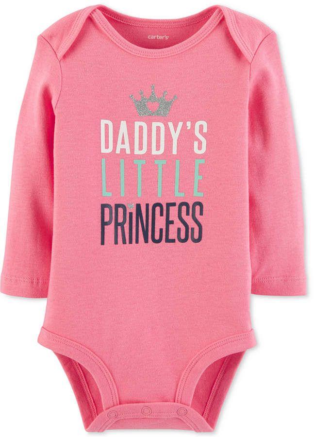4e89b4e58d0 Carter's Baby Girls Little Princess Cotton Bodysuit | Products ...