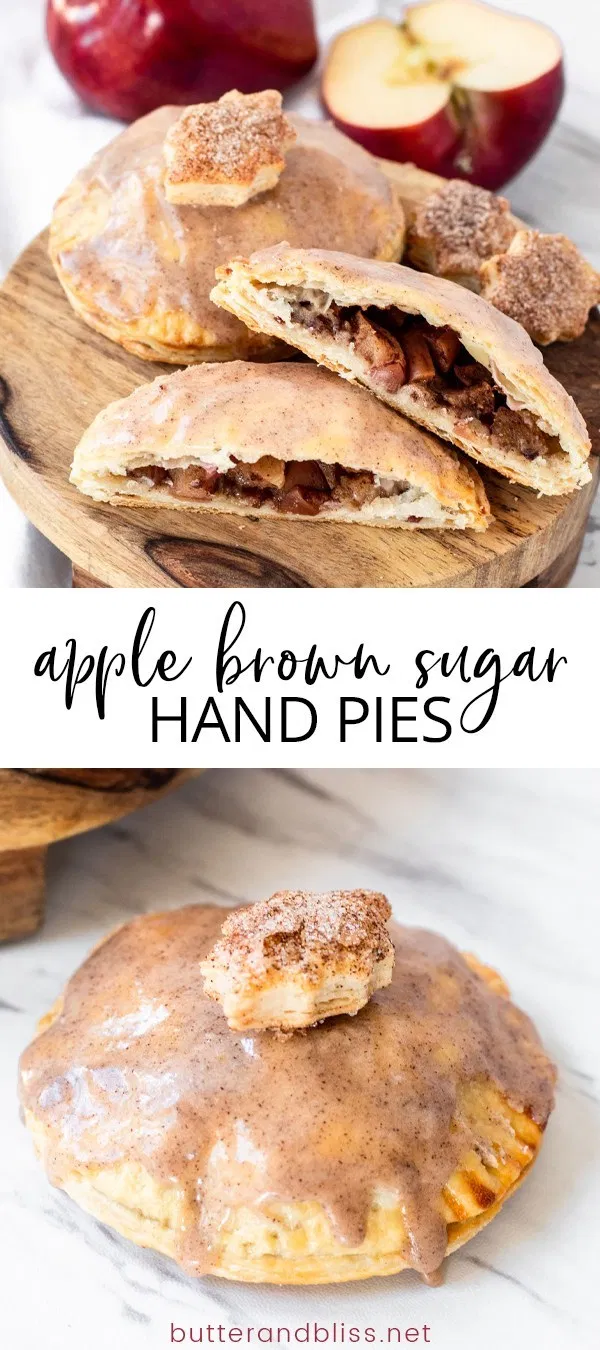 Apple Brown Sugar Hand Pies - Small Batch