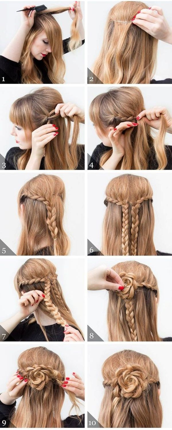 40 easy stepstep hairstyles for girls  braided