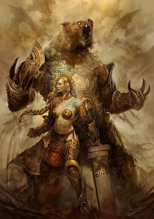 An ABSOLUTELY AWSOME art piece for Guild Wars 2