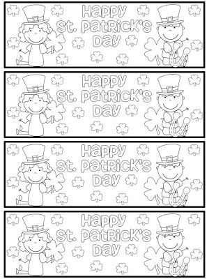 FREE St. Patrick\'s Day bookmarks! | KinderLand Collaborative ...