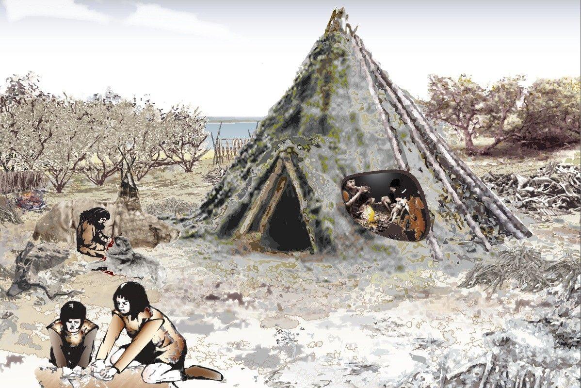древние жилища человека картинки опубликовал фото