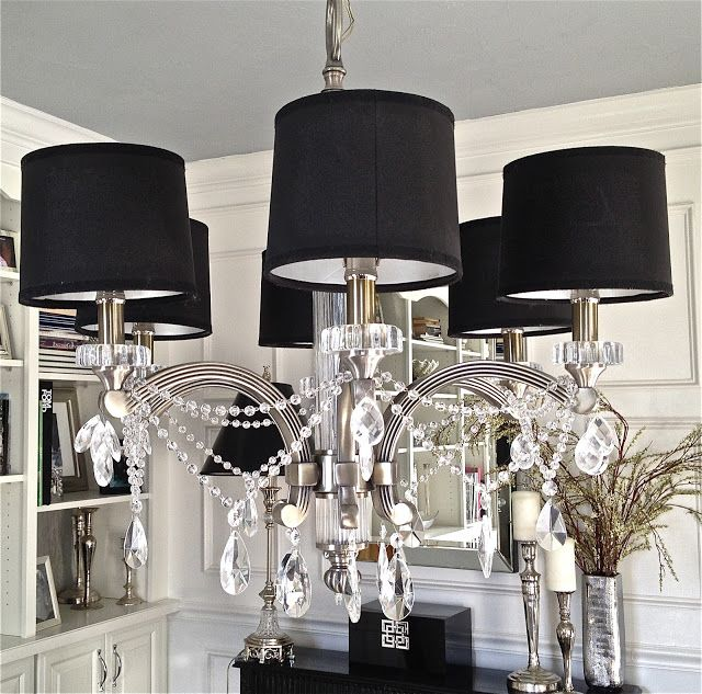 Diy Crystal Chandelier Under 30 Easy See South S Decorating