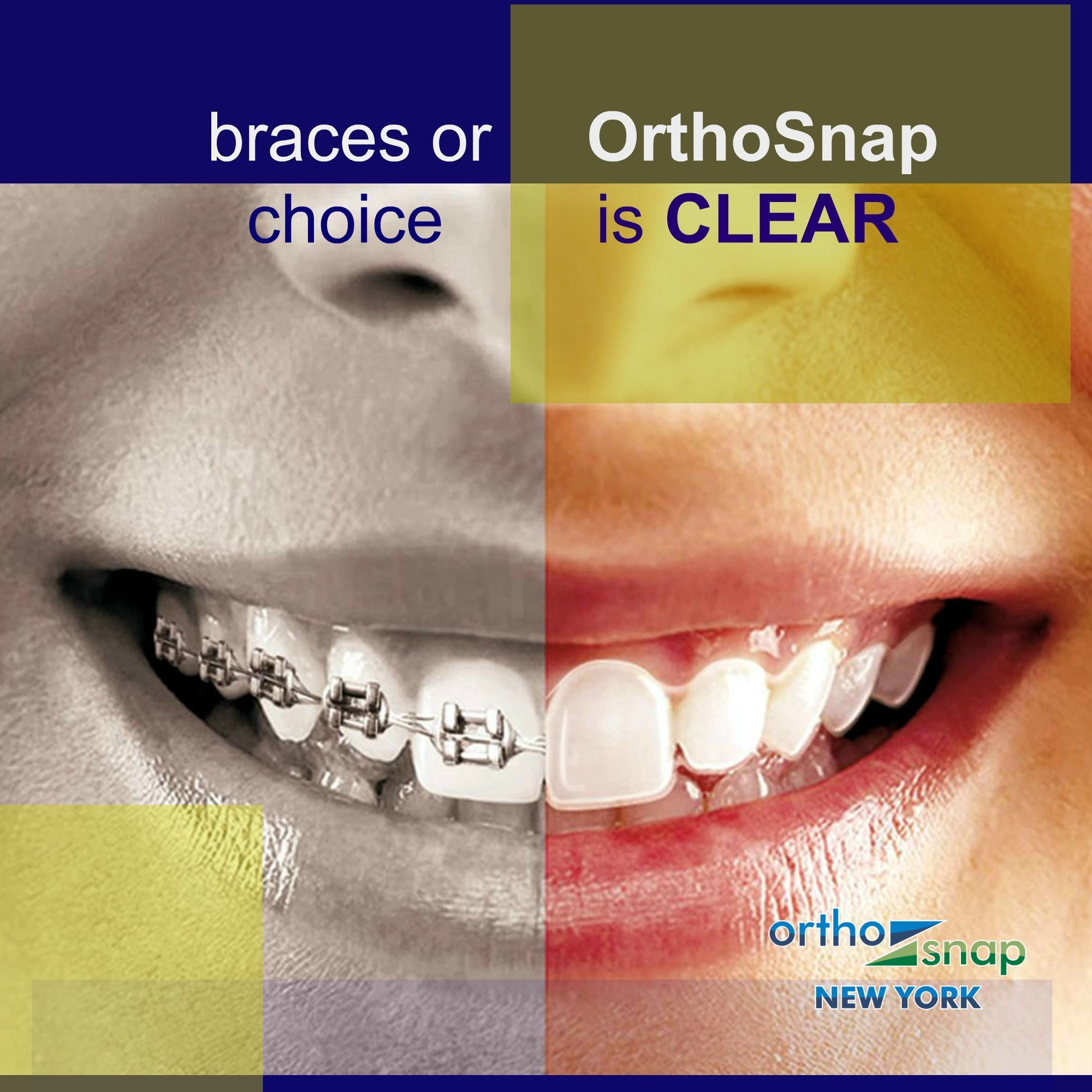 OrthoSnap is the only true alternative to traditional