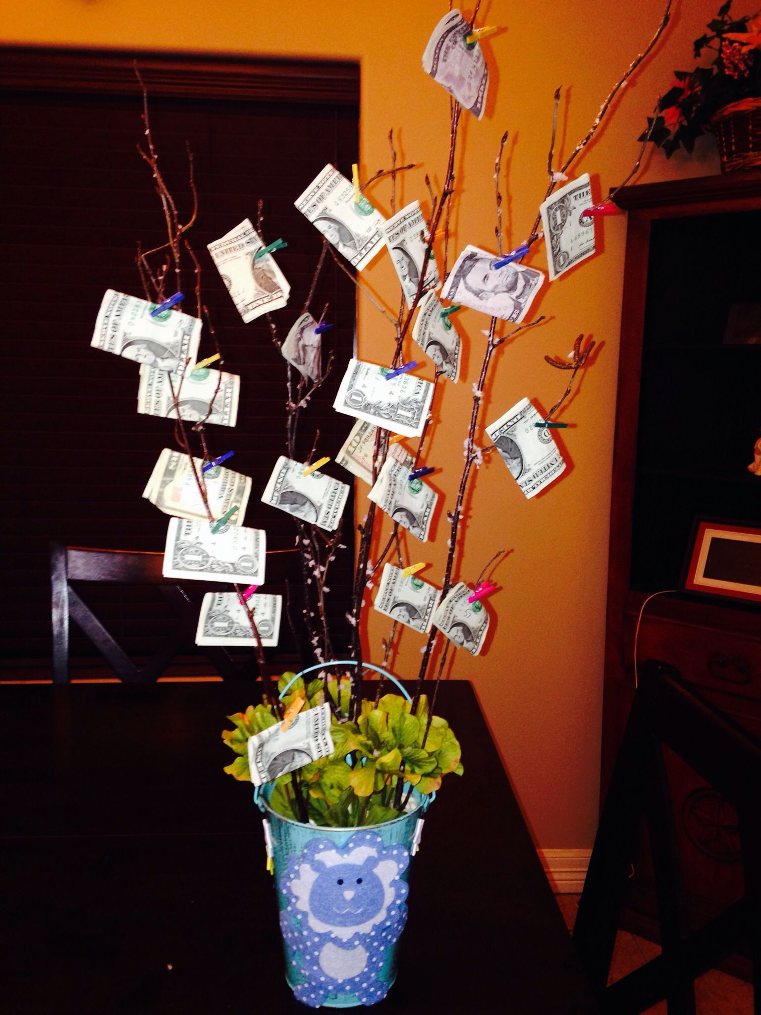 Money Tree For Baby Shower Inspiration Pinterest Shower Baby