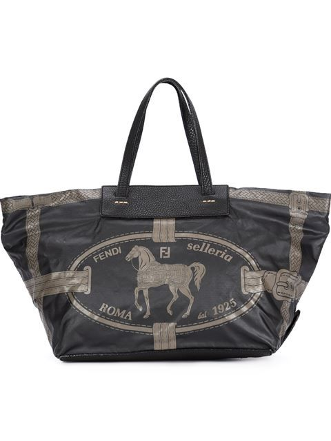 1427c8a196ea3 Comprar Fendi Vintage bolso tote con estampado de caballo en Bella Bag from  the world s best independent boutiques at farfetch.com.