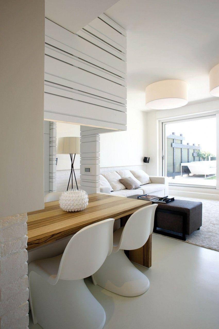 Weiß gelbe küchenideen casa pina by fabio fantolino  gästezimmer und wohnzimmer