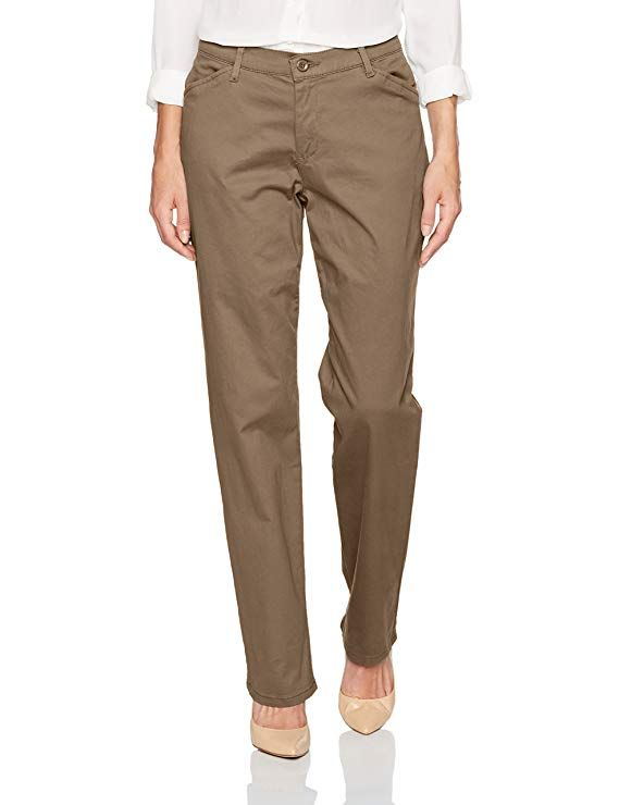 1953  7930 LEE Womens Relaxed Fit All Day Straight Leg Pant Fabric content varies by color Please see Product Description field for more details Imported Zipper closure R...
