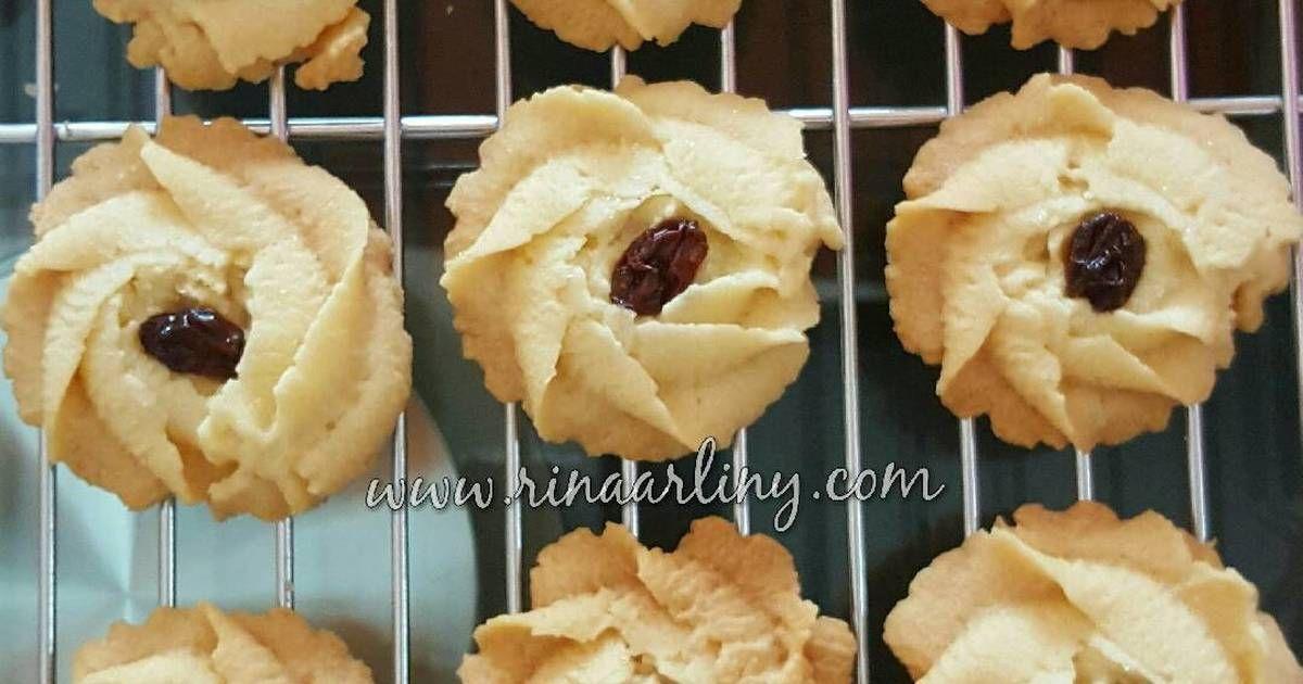 Resep Butter Cookies Ala Monde Oleh Rina Arliny Resep Resep Biskuit Resep Makanan Dan Minuman