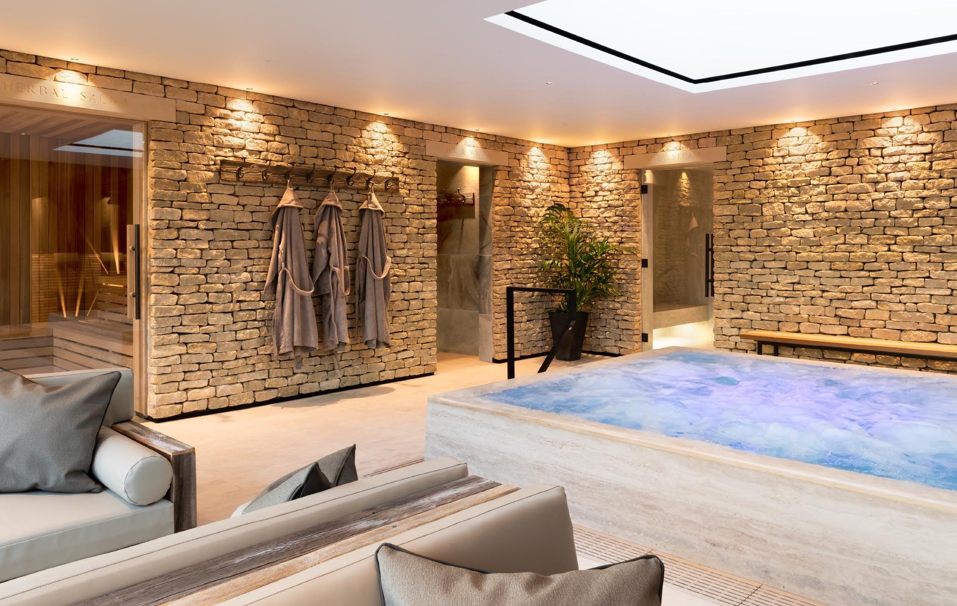 Homefield Grange Wellness Spa Butterscotch Spa Interior Design Indoor Pool Design Luxury Spa Design