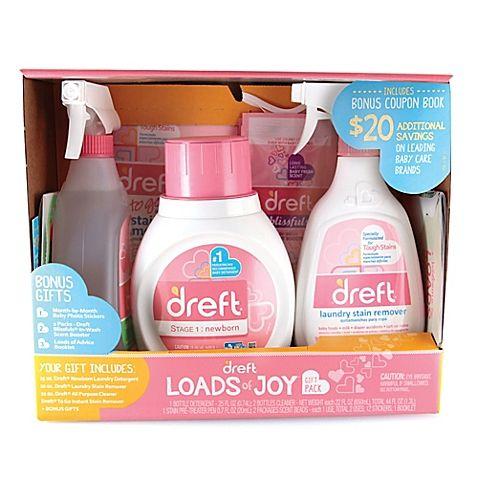 Dreft 6 Piece Loads Of Joy Gift Set Wash Scent Booster
