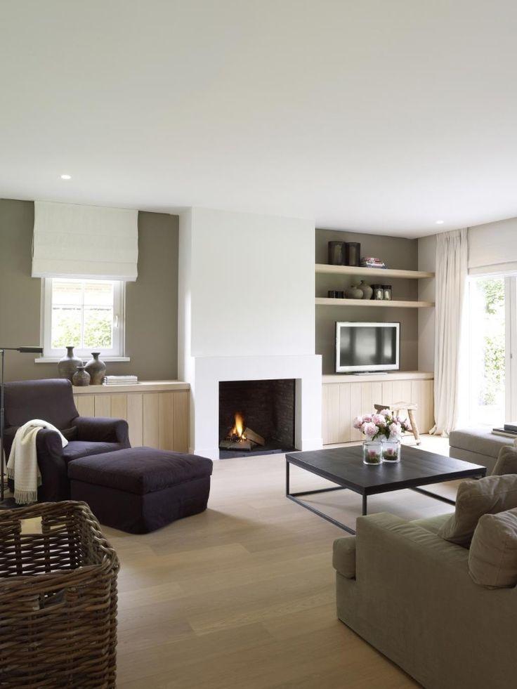 warm strak interieur  Mooi  Huis ideen Interieur