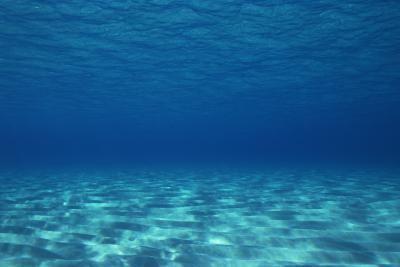 Room Look Underwater With Lighting