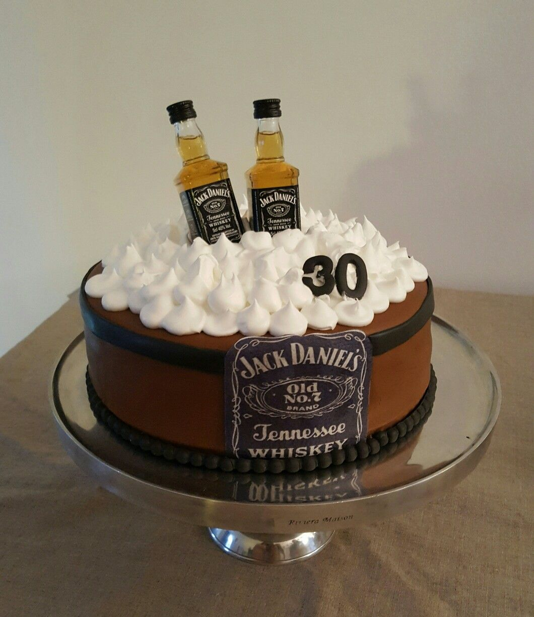 Jack Daniel S Inspired Cake With Images 21st Birthday Cakes