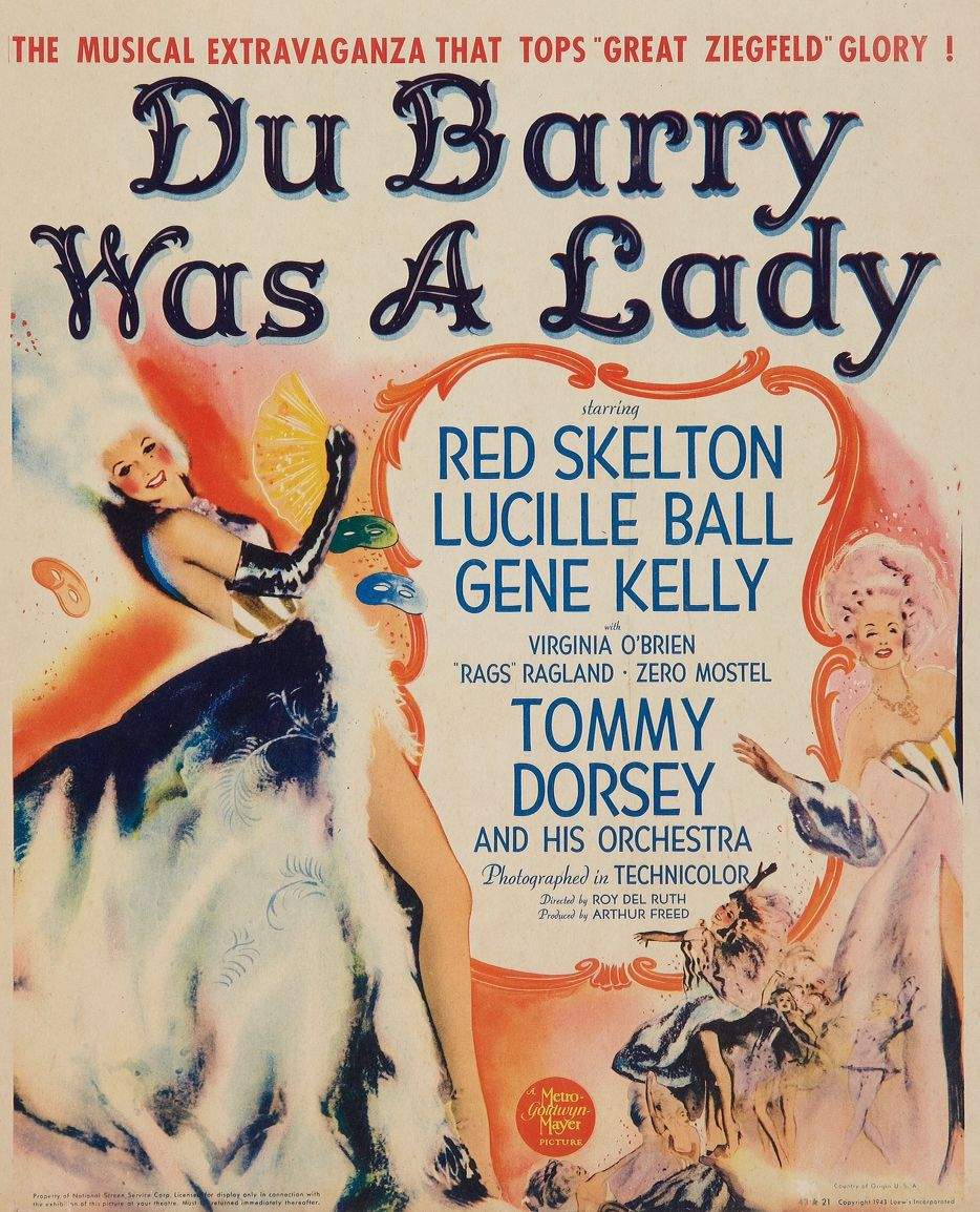 Image result for Du Barry Was a Lady 1943