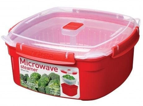 Sistema 1103 Large Microwave Steamer - 3.2 ltr, 108.2 oz, 13.5 cups